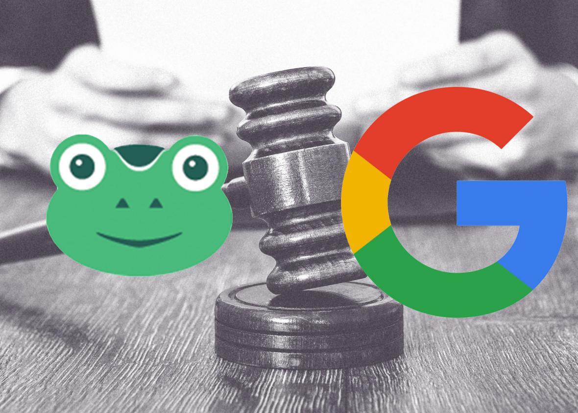 Gab.ai suing Google