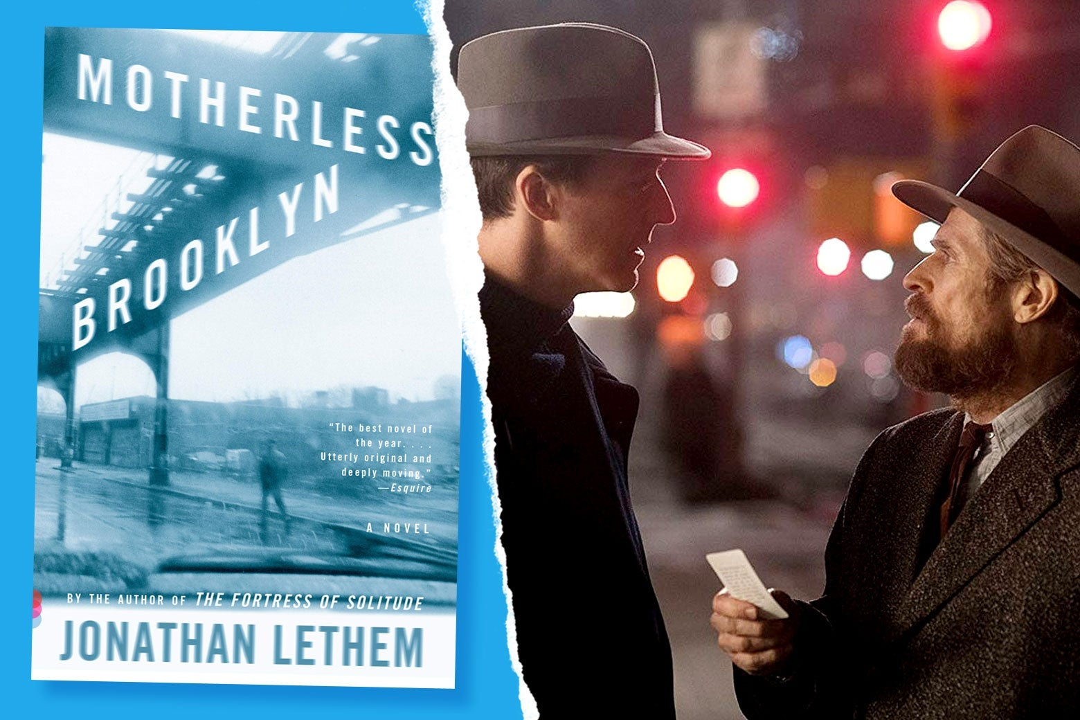 Motherless Brooklyn movie vs. book: the differences between Jonathan Lethem's novel and Edward Norton's adaptation. - Slate