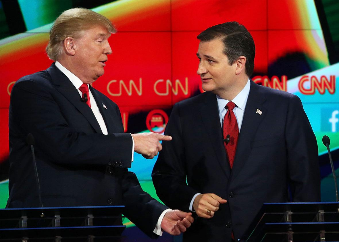 Donald Trump Is Questioning If Ted Cruzs Canadian Birth Makes Him