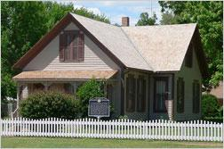 Willa Cather House in Red Cloud, Neb.