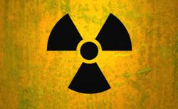 Radioactive symbol. Click image to expand.