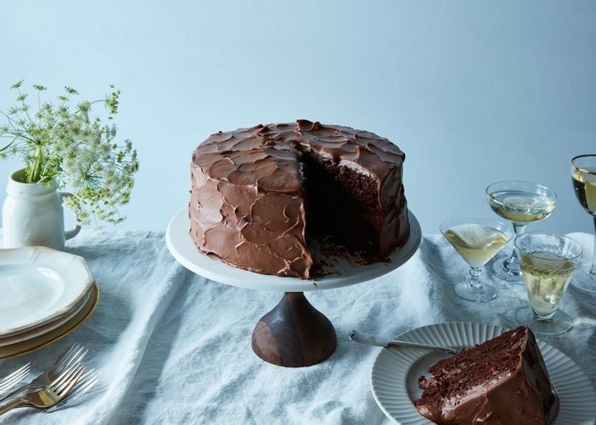 A Genius Chocolate Birthday Cake With Super-Fluffy Chocolate Frosting
