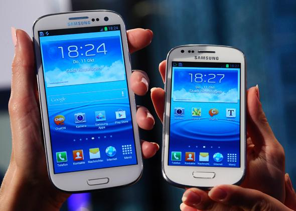 Samsung Galaxy III and Galaxy III Mini