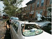 Brooklyn storm damage. Click image to expand.