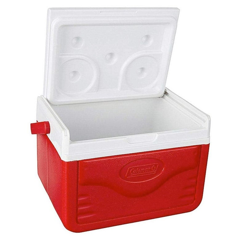 A red cooler