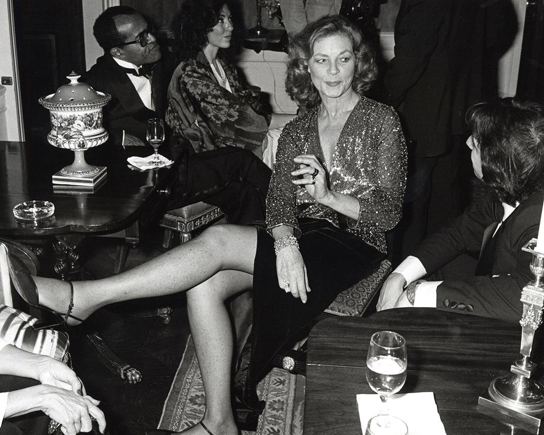 Lauren Bacall, 1980