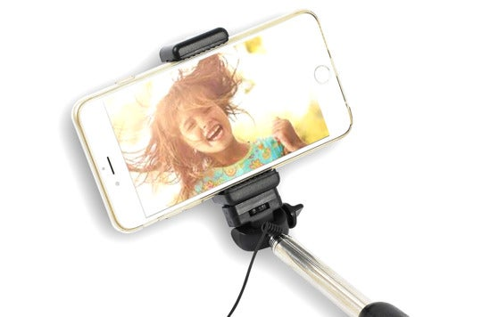 InfinityMaker cable selfie stick.