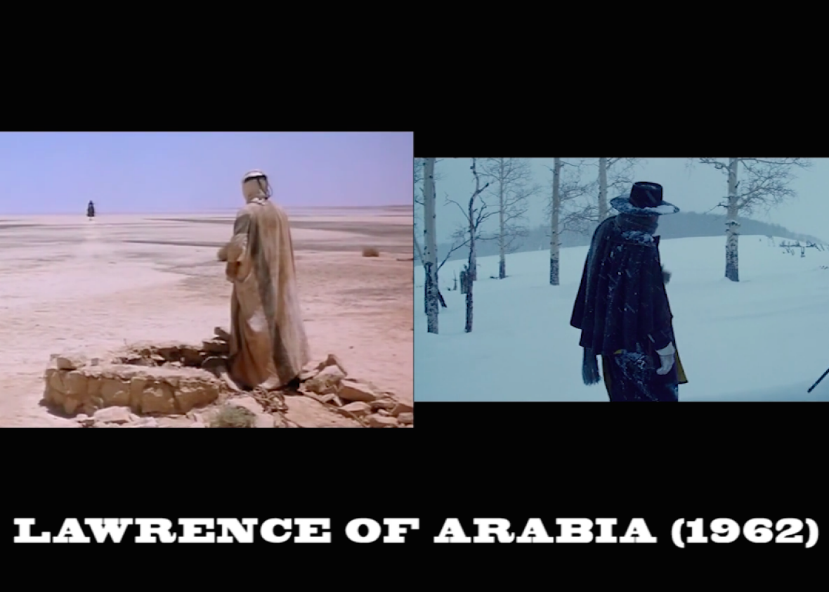 The Many, Many Film References in The Hateful Eight, Side-by-Side