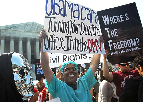Anti-Obamacare.