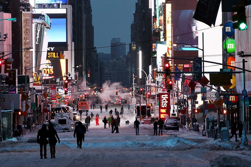 Jan. 27, 2015: New York City, New York