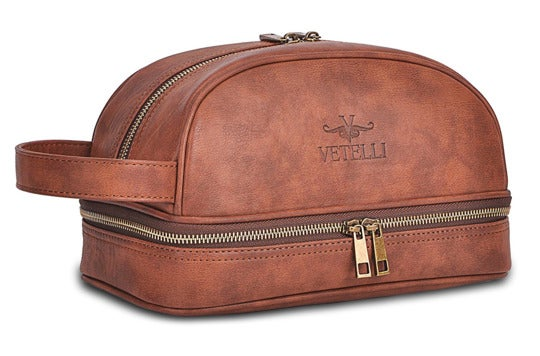 Vetelli leather bag.
