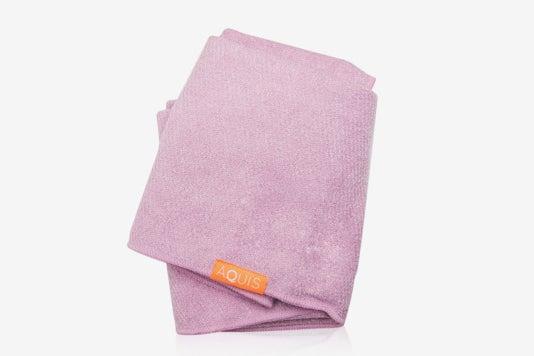 Aquis Microfiber Hair Towel.
