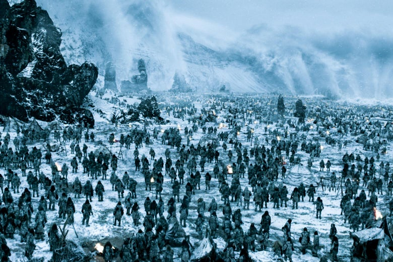 A horde of White Walkers.