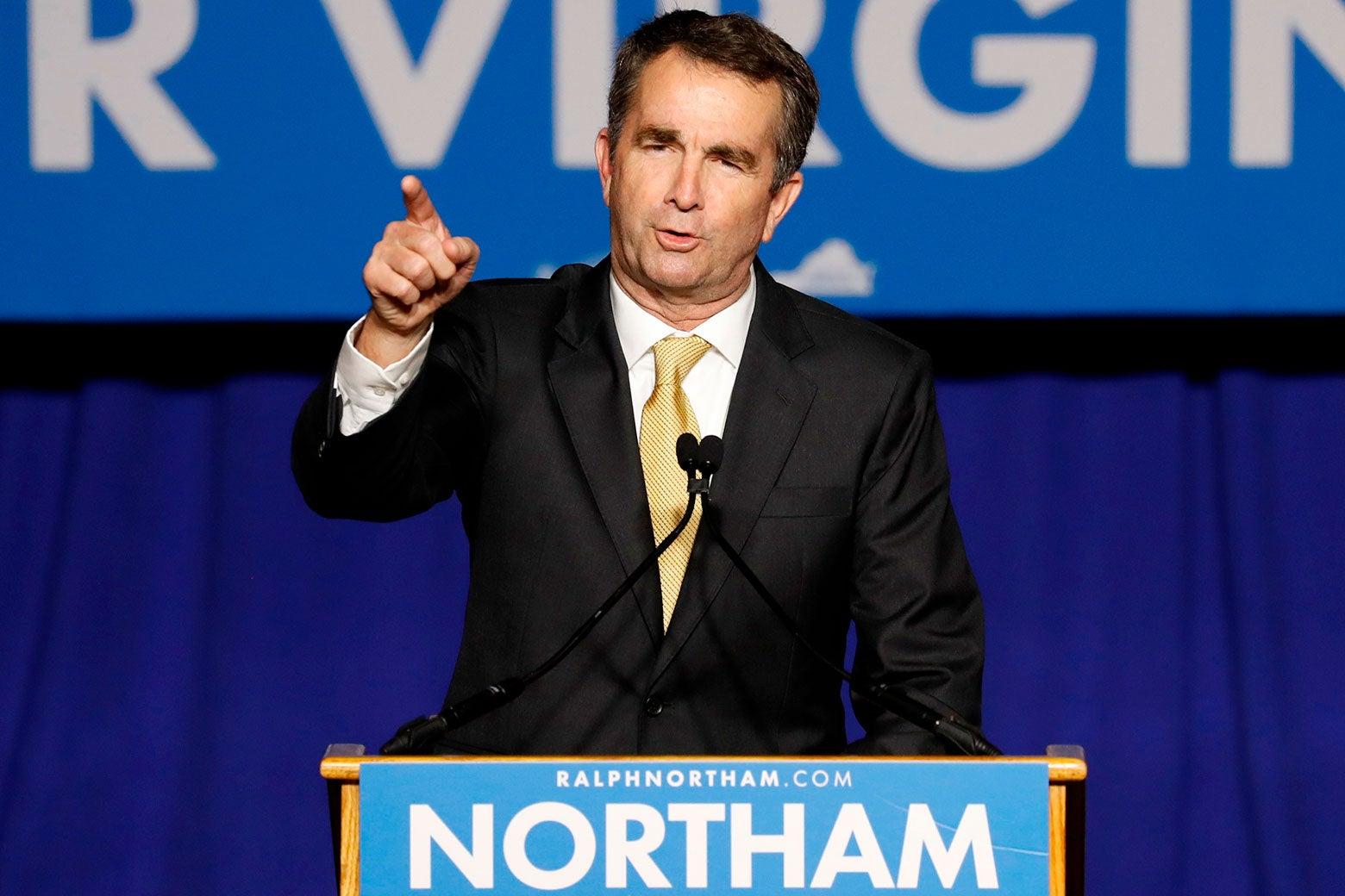 Ralph Northam Virginia governor