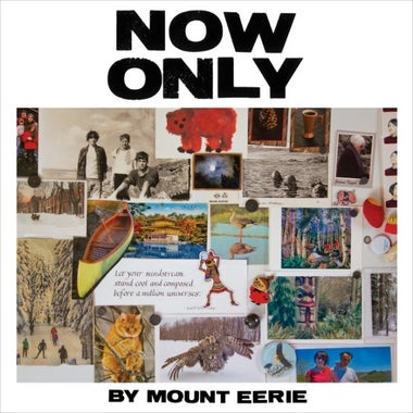 The cover for Mount Eerie's Now Only.