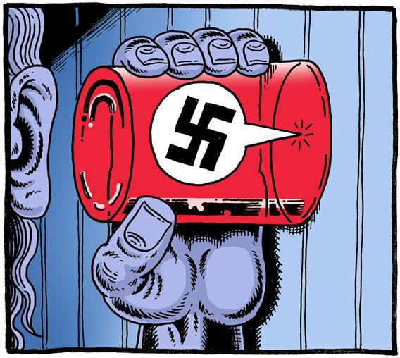 Illustrated by Derf Backderf.