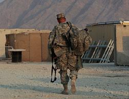 A U.S. soldier in Afghanistan. Click image to expand.