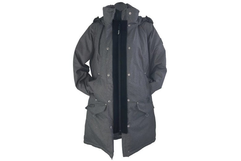 Jacket with expander.