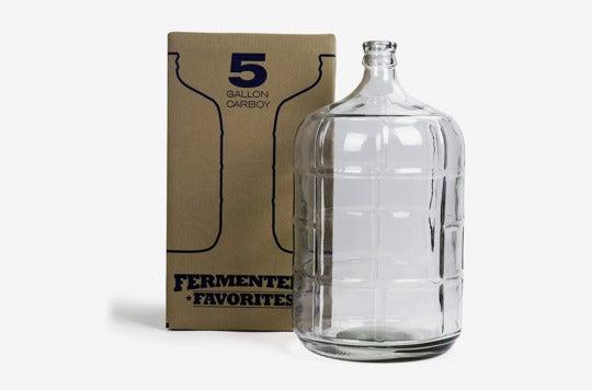 Northern Brewer glass fermenter.