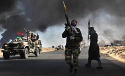 Libyan rebels. Click image to expand.