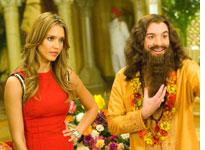 Jessica Alba and Mike Myers