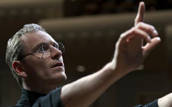 Michael Fassbender in Steve Jobs (2015).