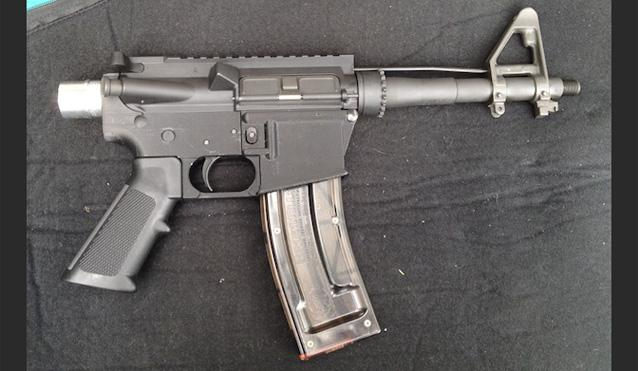 3-D printed AR-15