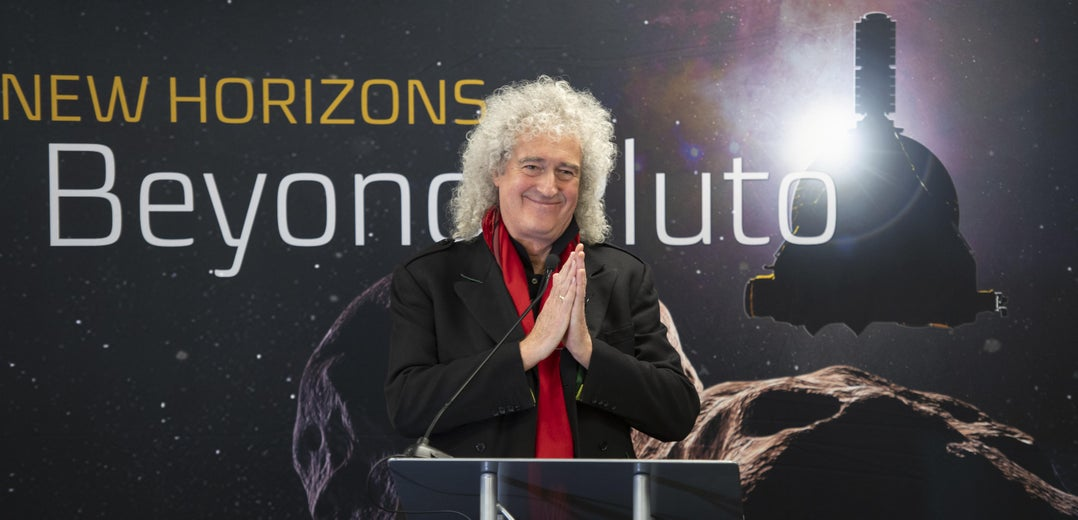 Listen to a New Space Jam From Queen Guitarist/Astrophysics Ph.D. Brian May