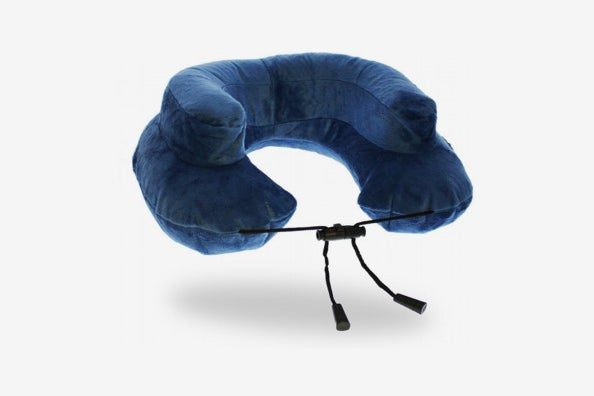 Cabeau Air Evolution Inflatable Travel Neck Pillow and Case.
