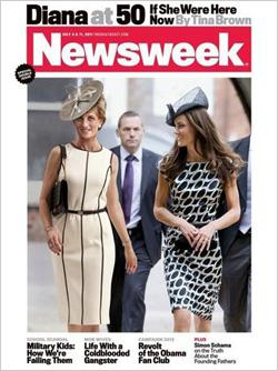 Newsweek cover: Diana at 50 If She Were Here Now