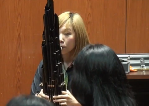 Sheng, an ancient Chinese instrument, sounds like 8-bit Mario