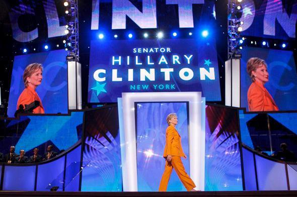 U.S. Senator Hillary Clinton.