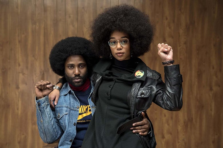 A scene from BlacKkKlansman