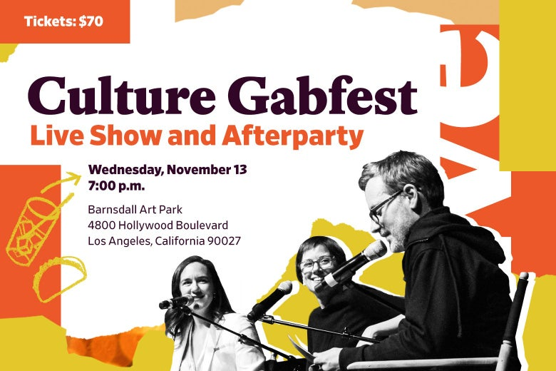 Culture gabfest la description, host, and snacks