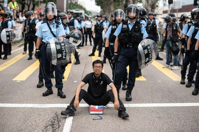 Hong Kong's Political Unrest Is Getting More Violent
