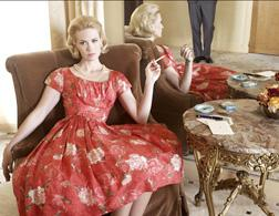 January Jones in Mad Men. Click image to expand.