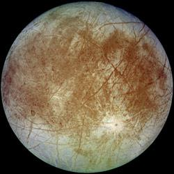 Europa's trailing hemisphere.