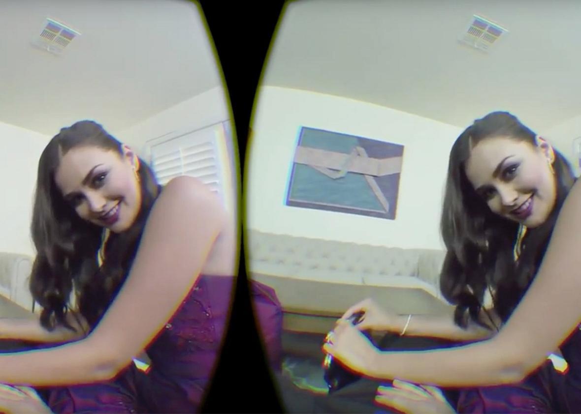 virtual reality porn.