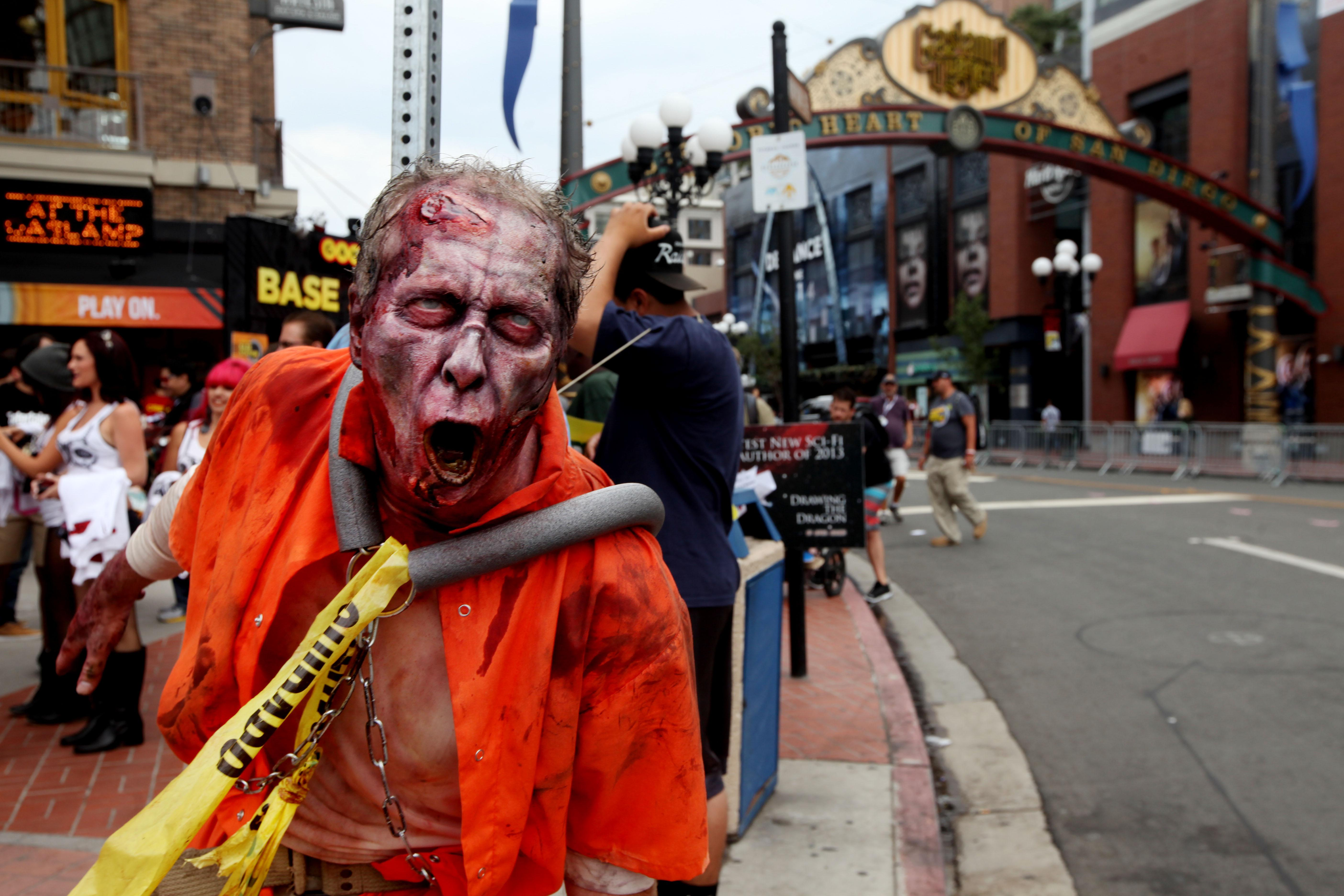 zombies at Comic-Con