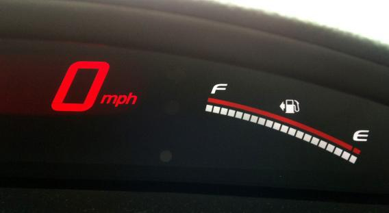 Dashboard gas gauge arrows: What do they indicate?