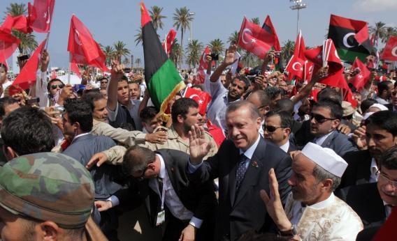 erdogan in libya