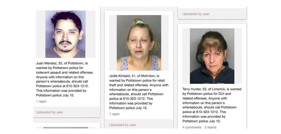 Crying Pinterest Mug Shots