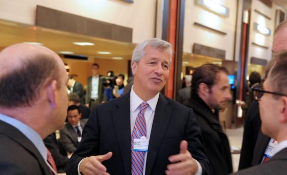 JPMorgan Chase chief executive officer Jamie Dimon