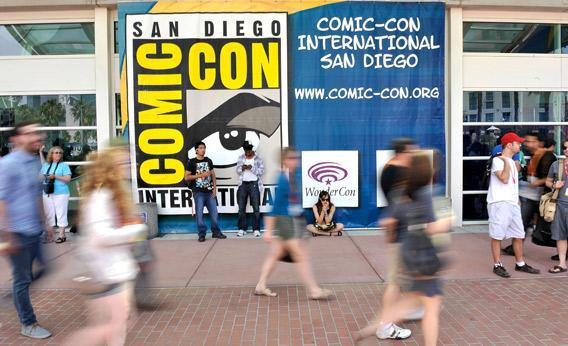 San Diego prepares for 2012 Comic-Con.