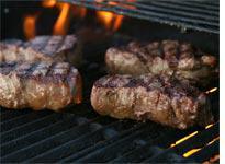 Filet mignon steaks
