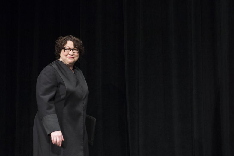 Supreme Court Justice Sonia Sotomayor at the Warner Theatre in Washington, DC, June 17, 2015.
