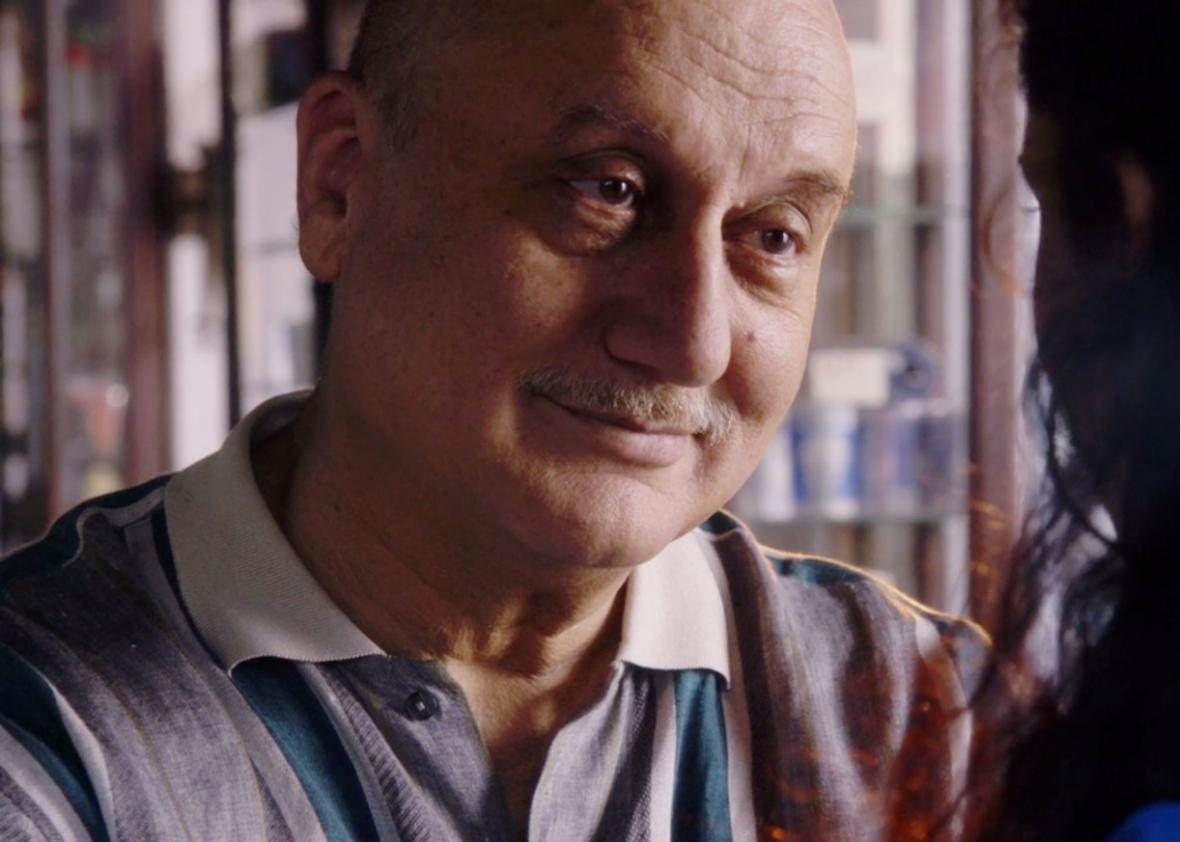 Anupam Kher as Sanyam Dandekar on Sense8.