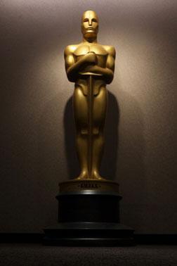 Oscar statue, 2010.