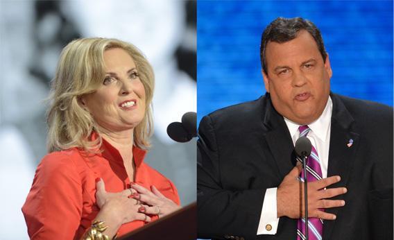 Ann Romney and Chris Christie