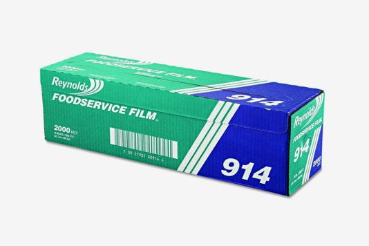 Reynolds Wrap 914 PVC Film Roll With Cutter Box.